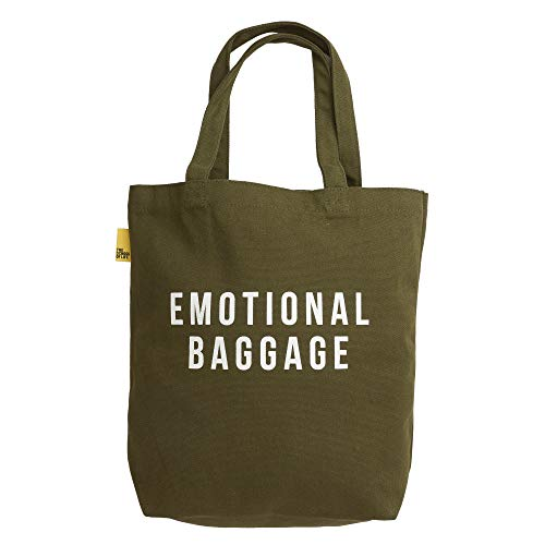 The School Of Life EMOTIONAL Baggage | Tragetasche (Khaki)