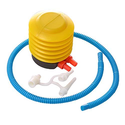 F Fityle Tragbare Fuß Pumpe Blasebalg für Bade-Ball, Schwimm-Ring, Luftmatratze, Schlauch 4 Zoll