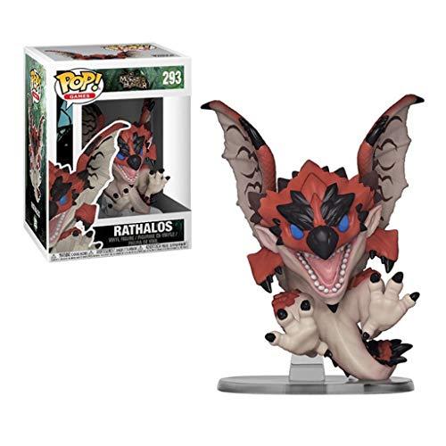 ZRY Juego: Monster Hunter - Rathalos: Pop!Figura PVC Popular y Precioso de Dibujos Animados con envases Exquisita la Mejor colección de Monster Hunter tamaño de Aficionados: 10 cm