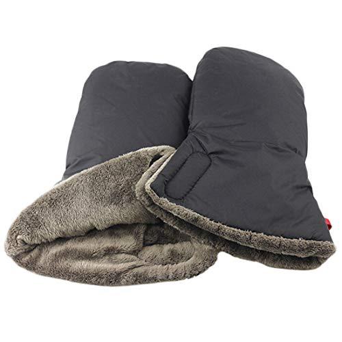 613 Handmuff Black Guantes De Silla De Paseo Stroller Espesar Impermeable Invierno Guantes Para Cochecitos Coches Cottonmoose Handmuff Wintermuff