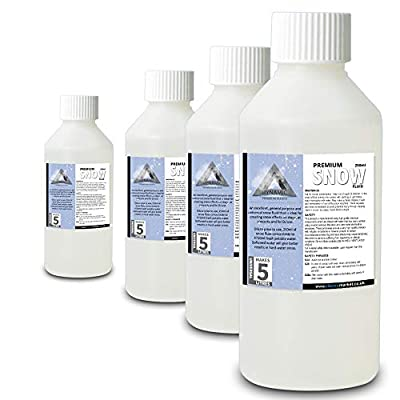 4x Snow Fluid Concentrated Makes 20L Bottle Christmas Party Machine Effects