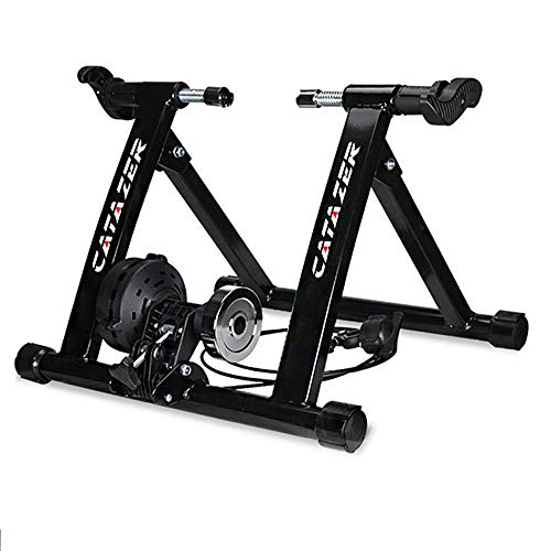 catazer Indoor Bike Trainer Exercise Stand Foldable Bike Fitness Stand for Road MTB Training 2629 Inch