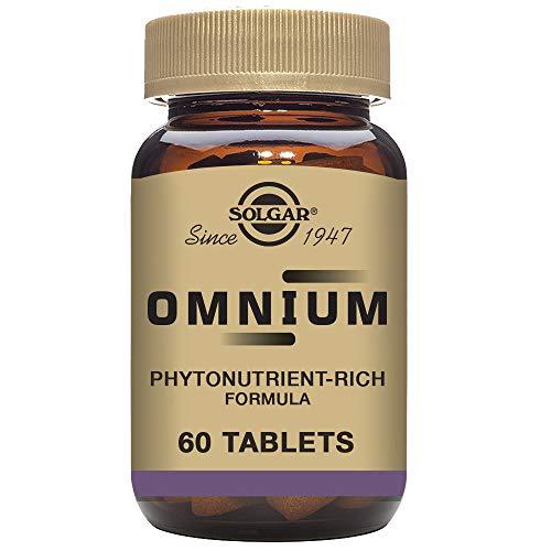 Solgar Omnium Vitaminas, 60 Tabletas