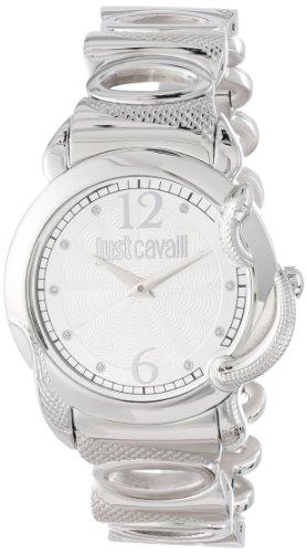Just Cavalli Damen-Armbanduhr Eden Analog Quarz Edelstahl R7253576503