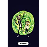 Family Favourites Notebook : Rick and Morty Lined Notebook Gift Ideas For Halloween , Christmas , Newyear , Thankgiving Gift