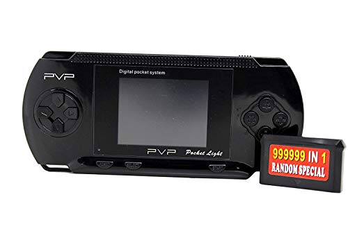 Cosset Pack PVP Station Light 3000 |Video Game for Kids | Handheld Game Console | Best Gaming Console for Kid | PVP Game with 2 Cassettes (Black)