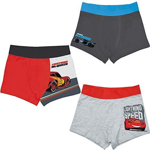 U Disney Kinder Jungen Cars Retro Shorts, 3er Pack (98/104)