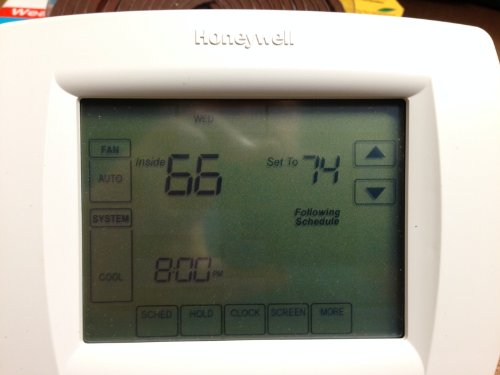 Honeywell TH8110U1003 Vision Pro 8000 Digital Thermostat -