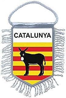 Akachafactory Fanion Mini Drapeau Pays Voiture Decoration Catalogne ane Catalan r2
