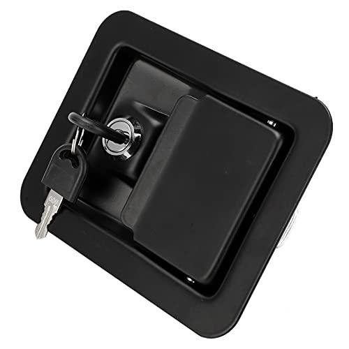 Cerradura de panel cuadrado, montaje en 4 esquinas Accesorios de unidad silenciosa Cerradura de panel de grupo electrógeno Cerradura de unidad silenciosa confiable para suministros