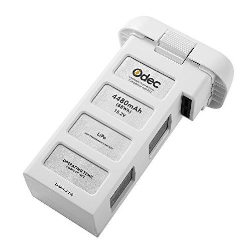 Odec Batería para DJI Phantom 3 Standard, DJI Phantom 3 Professional, DJI Phantom 3 Advanced, DJI Phantom 3 SE and 4K Drones, Batería LiPo de 15,2V 4480mAh - Actualizada