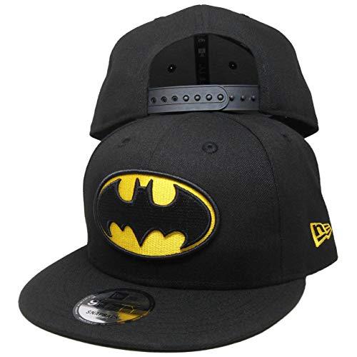 DC Comics Batman New Era Custom 9Fifty Snapback - Black, Yellow