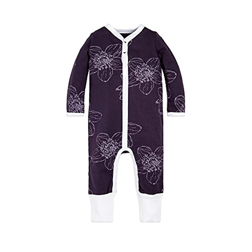 Burt's Bees Baby - Baby Girls' Romper Jumpsuit, 100% Organic Cotton One-Piece Coverall