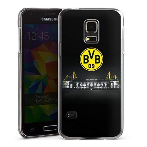 DeinDesign Hard Case kompatibel mit Samsung Galaxy S5 Mini Schutzhülle transparent Smartphone Backcover BVB Stadion Borussia Dortmund