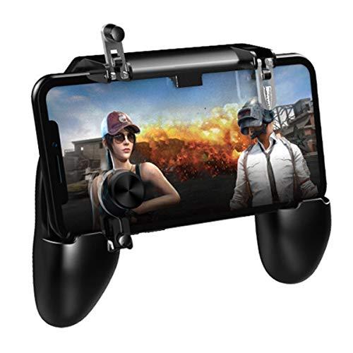 NCONCO Controlador de Juegos Móviles Mango de Teléfono Móvil Agarre Gatillo de Juego Botón de Disparo Compatible con Ios Android Iphone Ipad Samsung Galaxy
