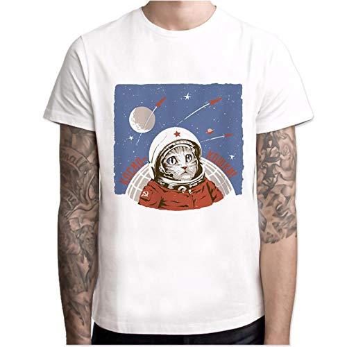 Camiseta de manga corta para verano, transpirable, cómoda y elástica, diseño de aviación