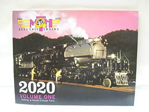 MTH Yr. 2020 Volume One 176 Page O Gauge & O Scale Catalog -  MTH 2020V1C