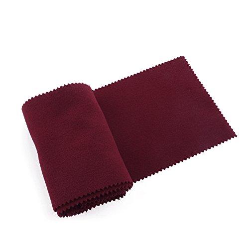 WINOMO Funda protectora para teclado de piano, 128 x 15 cm, color rojo