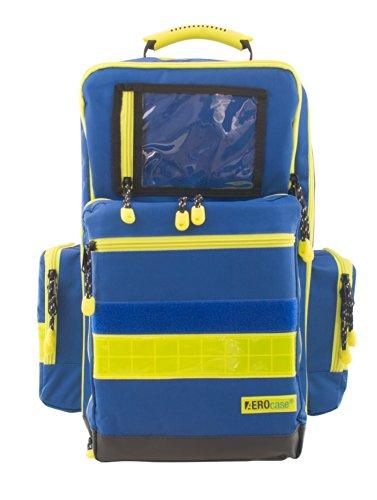 AEROcase - Pro1R PL1C - Notfallrucksack POLYESTER BLAU Gr. L - Rettungsdienst Notfall Rucksack Notarzt