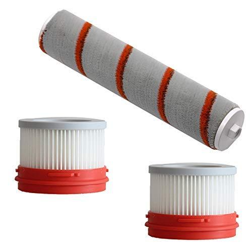 YIONGA CAIJINJIN aspiradora Rodillo de Felpa Suave Cepillo de Filtro de HEPA for Manual MIJIA sueño V9 Paquete de Partes Piezas del Aspirador Conjunto de reemplazo Accesorios