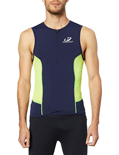 Hammerhead HH3-Short Distance, Top Triathlon, Homens, Marinho/Amarelo/Verde, G