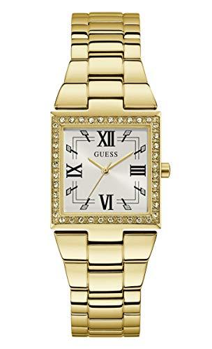 Guess Watches Ladies Chateau Reloj para Mujer Analógico de Cuarzo con Brazalete de Acero Inoxidable GW0026L2