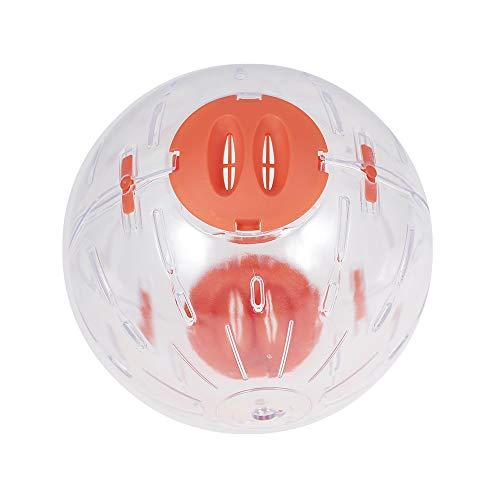 Decdeal Ballon d'exercice de Hamster, Boule de Cristal de Hamster, Ballon Courant de Hamster