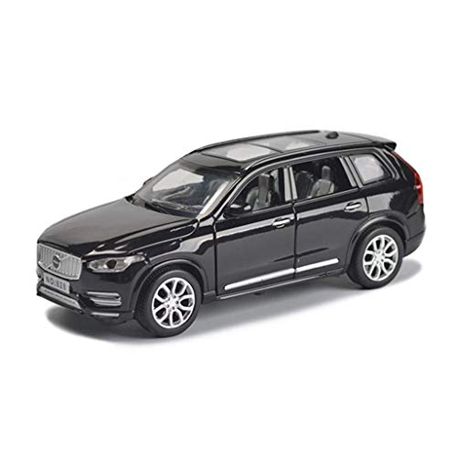 Hyzb Car Model 1,32 Volvo XC90SUV Simulation Alloy Die-casting Toy Ornaments Sports Car Collection Jewelry 15x6x5.5CM (Color : Gold)