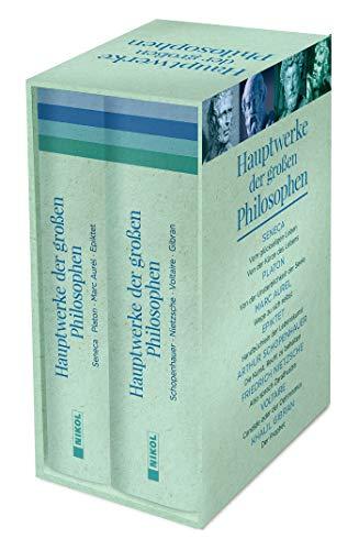 Hauptwerke der großen Philosophen: 2 Bände im Schuber