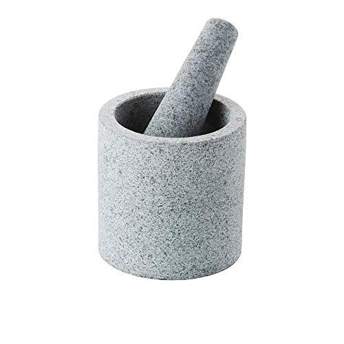 Point-Virgule doppelseitige Mörser mit Stößel aus Granit, ø 11cm