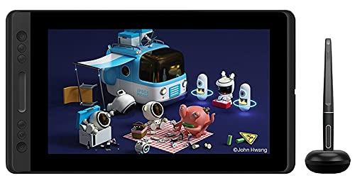 Xyfw Tableta Digital GT-116 Pantalla De Lápiz Sin Batería Monitor De Tableta De Dibujo con Función De Inclinación Nivel De Vidrio AG 8192