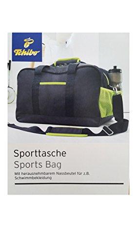 TCM Tchibo Sporttasche + Nassbeutel Tasche mit vielen Funktionen