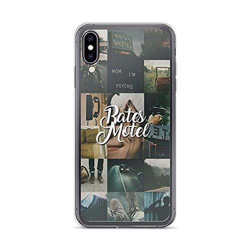 Compatible con iPhone 6 Plus/6s Plus Case Bates Motel Collage Fotos Fan...