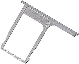 BisLinks Grey Nano Sim Card Tray Slot Holder Replacement Part Fix for HTC One M8