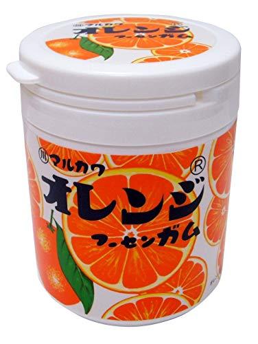 丸川製菓 マルカワ オレンジマーブルガム ボトル 130g×3個