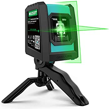 Mileseey Laser Level with Rotatable Folding Tripod
