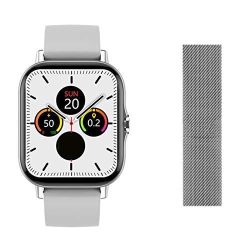 YDK DT94 Hombre Smart Watch Waterproof SmartWatch Bluetooth Smart Phone Watch Sports Watch Men's Women's VS W56 HW22 para iOS Android,D