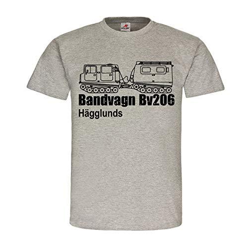 Bandvagn Bv206 Hägglunds Sverige pansar transport simmare T-shirt #25279