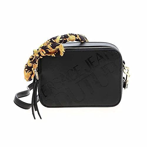 Versace Bolso Jeans Couture Bandolera Lazo Baroque E1VWABA6 71875 899 Negro
