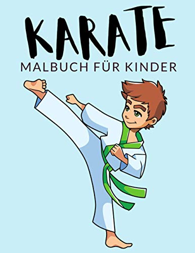Karate malbuch für kinder: Karate...