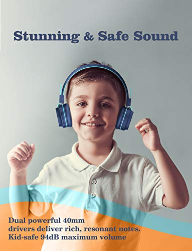 Kids Headphones With Led Light  for Boys 4
