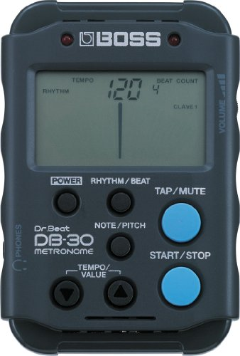 BOSS DB-30 Digital Metronome