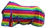 CHALLENGER 66' Horse FlySheet Summer Spring Airflow Mesh Rainbow 7343