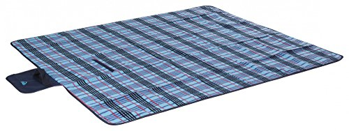 Mc Kinley Decke Picknick Fleece Beige/ Blau-1