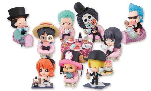 One Piece Petit Chara Land Wonderland Tea Party Sammelfiguren Umkarton 6 cm (10)