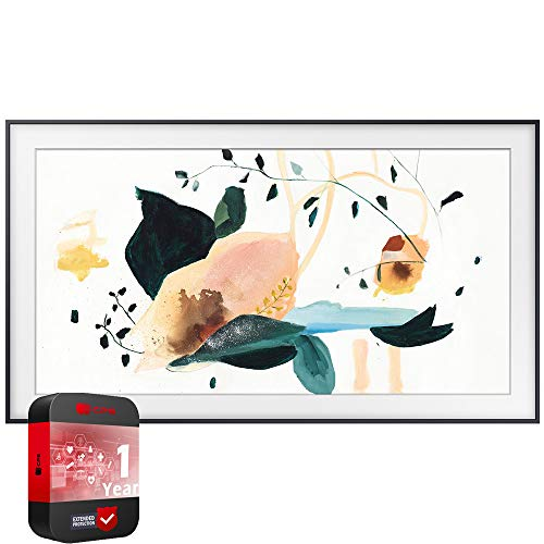 SAMSUNG QN32LS03TBFXZA The Frame 3.0 32 inch QLED Smart TV 2020 Model Bundle with Support Extension