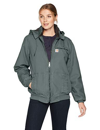 Carhartt Women's Wildwood Jacket, Balsam Green, Medium
