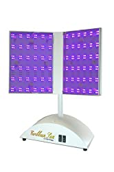 The Caribbean Sun Box Red and Blue Light Therapy Facial Treatment Professional Model RB-PRO provides LED light therapy for acne treatments.