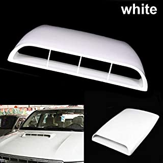 LafyHo Air Flow Vent Hood Universal Car Side Bonnet Vent Decorative Air Flow Intake Hood Scoops