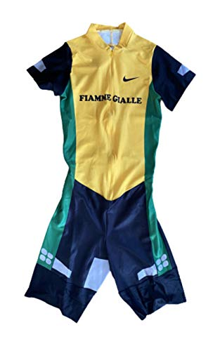 Nike Pro Elite Team Atletismo Issue Running Singlet Flamme Gialle Track & Field Atletismo Chaleco Pantalones Cortos Olímpicos Hombres (M)
